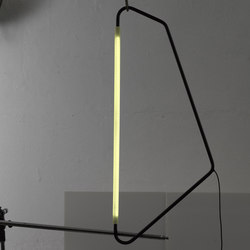Light Object 004 pendant single | black finish | Allgemeinbeleuchtung | Naama Hofman