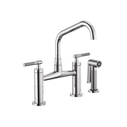 Bridge with Side Sprayer | Kitchen taps | Brizo