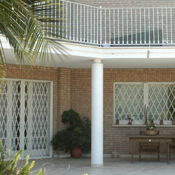 DibiBlind - Extending grille | Patio doors | Di.Bi. Porte Blindate