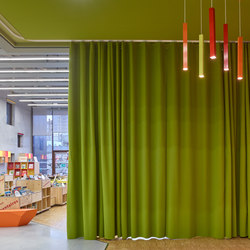 Vibrasto acoustic curtains | Sistemi in tessuto | Texaa®