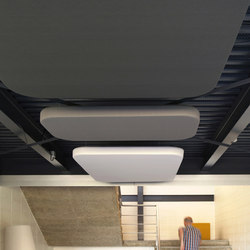 Abso acoustic cushions | Acoustic ceiling systems | Texaa®