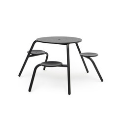 Virus 3-seater | Tables and benches | extremis
