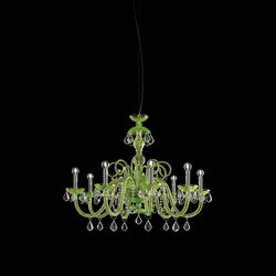 Evergreen | Ceiling suspended chandeliers | ITALAMP