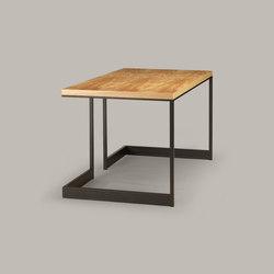 wishbone slab top desk | Bureaux | Skram