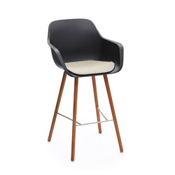 Captain high woody's chair | Bar stools | extremis