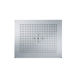 Contemporary | Concealed rain shower head, 2 spray | Duscharmaturen | rvb