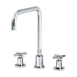Sully | 3-hole kitchen mixer, spout in U | Kitchen taps | rvb