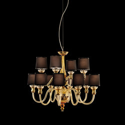 225-8+3 CHANDELIER | Suspended lights | ITALAMP