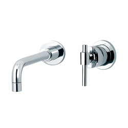 Dynamic | 3-hole wall-mounted sink mixer | Grifería para lavabos | rvb