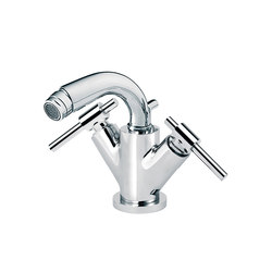 Dynamic | Bidet mixer, with waste | Bidet taps | rvb