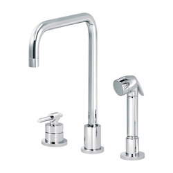 Dynamic | Single-lever kitchen mixer, great U spout, handshower | Kitchen taps | rvb