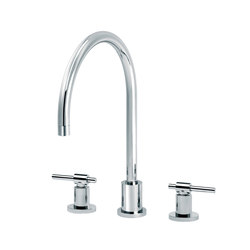 Dynamic | 3-hole kitchen mixer | Wash basin taps | rvb