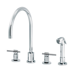 Dynamic | 3-hole kitchen mixer, handshower | Kitchen taps | rvb