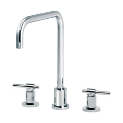 Dynamic | 3-hole kitchen mixer, spout in U | Kitchen taps | rvb