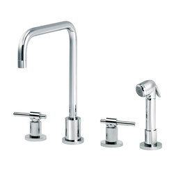 Dynamic | 3-hole kitchen mixer, handshower, spout in U | Kitchen taps | rvb