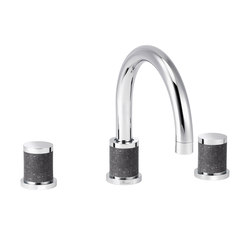 Flamant Docks   3-hole sink mixer, with waste   Wash basin taps   rvb
