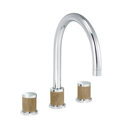 Flamant Docks | 3-hole kitchen mixer | Kitchen taps | rvb