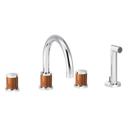 Flamant Docks | 4-hole bath and shower set, handshower | Bath taps | rvb