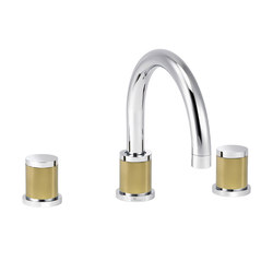 Flamant Docks | 3-hole sink mixer, with waste | Wash basin taps | rvb
