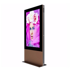 "Freestanding 43"" Outdoor Digital Signage 