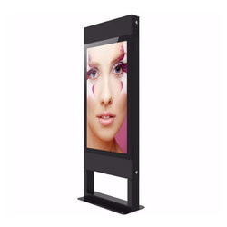 "Freestanding 55"" Outdoor Digital Signage 