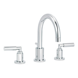 Cliff | 3-hole sink mixer, great spout | Rubinetteria lavabi | rvb