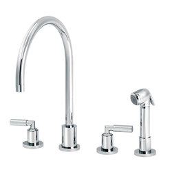Cliff | 3-hole kitchen mixer, handshower | Kitchen taps | rvb