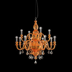 286-7 CHANDELIER | Suspended lights | ITALAMP