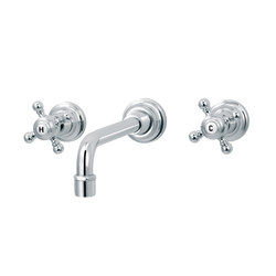 1920-1921 | 3-hole wall-mounted sink mixer | Wash basin taps | rvb