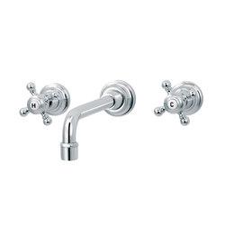 1920-1921 | 3-hole wall-mounted sink mixer | Wash basin taps | rvb