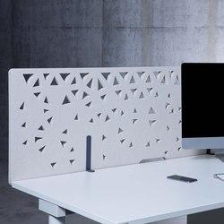 Raumakustik | Akustik Tischrückwände | Cloisons pour table | Kim Stahlmöbel