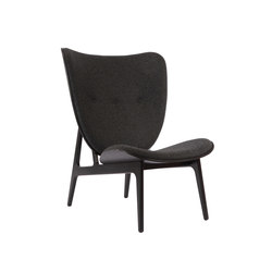 Elephant Chair, Black / Wool: Coal Grey 068 | Poltrone | NORR11