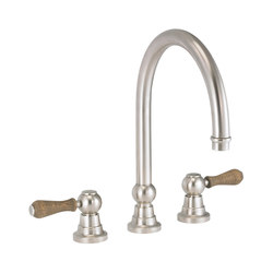 Flamant Butler | 3-hole kitchen mixer, great spout | Kitchen taps | rvb