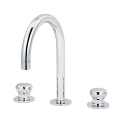 Deville | 3-hole sink mixer, with waste | Wash basin taps | rvb