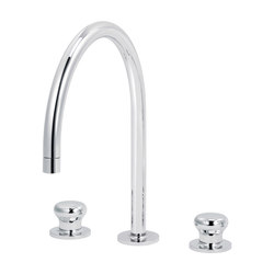 Deville | 3-hole kitchen mixer, great spout | Kitchen taps | rvb