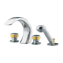 Amboise | 4-hole bath and shower set, handshower | Bath taps | rvb