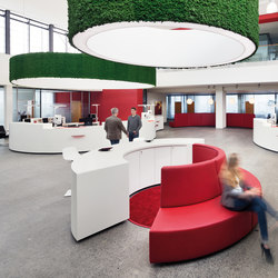 Moosgreen Flexible | Sound absorbing ceiling systems | Freund