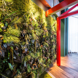 Greenwood Jungle | Living / Green walls | Freund