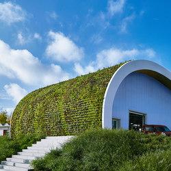 Live Panel vertical garden | Fachadas verdes | Freund