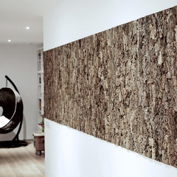 Cork bark | Wood panels | Freund