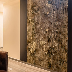 Poplar bark | Wall panels | Freund