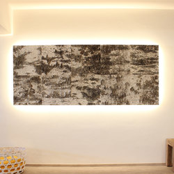 Birch bark | Wall panels | Freund