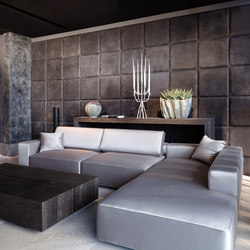 Leather wall | Wall coverings / wallpapers | Freund