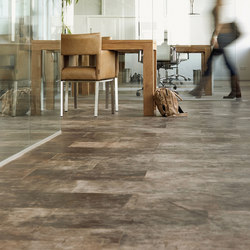 Leather floor | Piastrelle cuoio | Freund