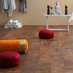 Leather floor | Dalles de cuir | Freund