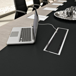 Cable management | Table equipment | Quadrifoglio Group