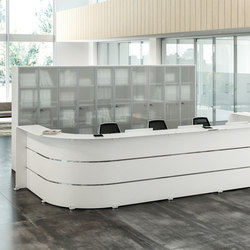 Reception Glass | Banconi | Quadrifoglio Group