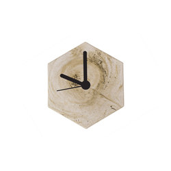 MonoClock | Concrete Light Grey | Clocks | Valence Design