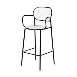 Piper Bar Stool with Armrests | Taburetes de bar | DesignByThem