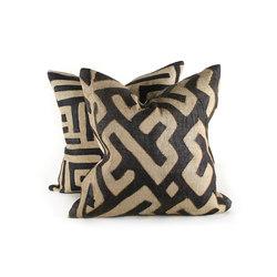 Kuba - Classic Authentic Kuba Cloth Pillow | Kissen | Pfeifer Studio